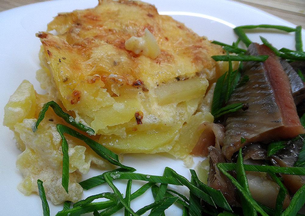 картофель дофине